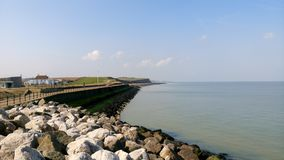 Reculver beach. The beautiful beach of Reculver Stock Photos