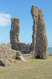 Reculver Ruins. This photo shows ruins at Reculver Stock Image