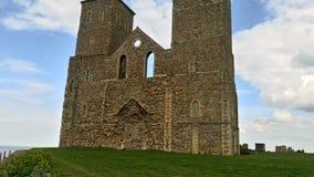 Reculver torn Royaltyfri Bild