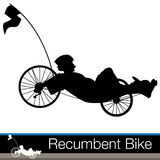 Recumbent Bike Stock Images