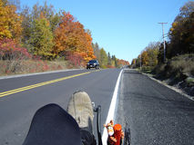 Recumbent Bike Ride Ontario Canada Royalty Free Stock Photo