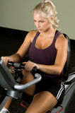 Recumbent Exercise Bike Royalty Free Stock Photo