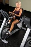 Recumbent Exercise Bike Royalty Free Stock Images