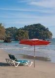 Recuo da praia - Costa-Rica Imagem de Stock