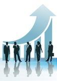 Recuperação e sucesso de negócio Fotografia de Stock Royalty Free