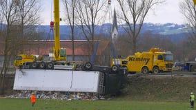 Recuperação um caminhão deixado de funcionar vídeos de arquivo
