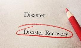 Recuperación de catástrofes fotografía de archivo