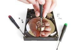 Recuperación de los datos Foto de archivo libre de regalías