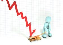 Recuperación de negocio stock de ilustración