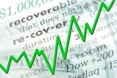 Recuperación económica stock de ilustración
