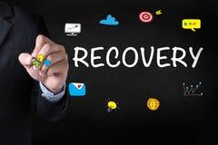 RECUPERAÇÃO (dados alternativos da restauração da recuperação) Imagens de Stock