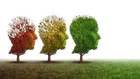 Recupero di salute mentale e di demenza illustrazione di stock
