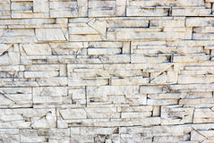Recurrent stone masonry light bars Royalty Free Stock Images