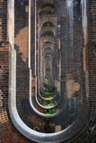 Recurring Viaduct Tunnels Royalty Free Stock Photography
