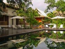 Recurso bonito em Costa-Rica fotografia de stock royalty free