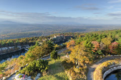Recurso da casa da montanha de Mohonk - New York Foto de Stock