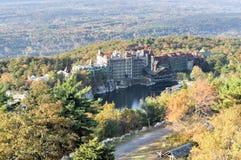 Recurso da casa da montanha de Mohonk - New York foto de stock royalty free