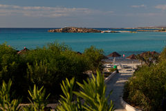 Recurso de Ayia Napa. Chipre. fotografia de stock royalty free
