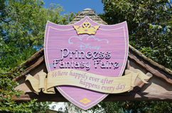 Recurso de Disneylâandia Fotos de Stock Royalty Free