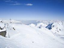 Recurso de esqui em Lenzerheide, Grisons, Switzerland imagem de stock