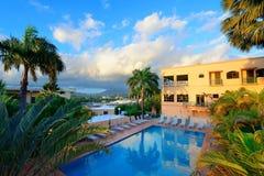 Recurso de férias sobre a montanha imagem de stock royalty free