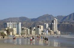 Recurso de feriado África do Sul da costa fotografia de stock