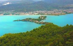 Recurso de Fethiye, Turquia imagem de stock royalty free
