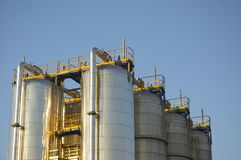 Recurso de la central eléctrica Imagen de archivo