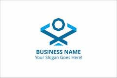 Recurso de Logo Building Template Vetora Graphic do negócio Fotos de Stock Royalty Free