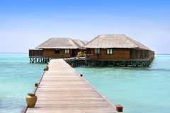 Recurso de Meeru, Maldives, Atoll norte imagem de stock