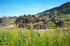 Recurso de verão da montanha, Avoriaz Fotos de Stock Royalty Free