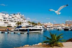 Recurso de Vilamoura, Portugal imagens de stock royalty free
