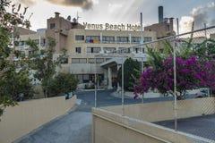 Recurso do hotel em Chipre Fotos de Stock