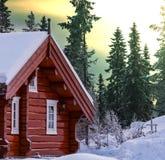 Recurso do inverno foto de stock