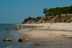 Recurso do mar Báltico de Pionersky Foto de Stock Royalty Free
