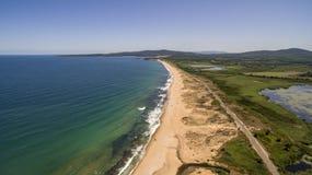 Recurso do mar de Dyuni de cima de, Bulgária fotos de stock royalty free
