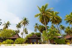Recurso do paraíso em Koh Mook Fotos de Stock