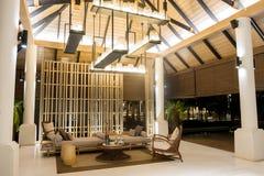 Recurso do resto do curso do hotel em Tailândia fotografia de stock royalty free