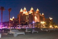 Recurso Dubai de Atlantis Fotografia de Stock