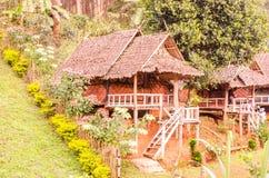 Recurso e cabana Fotografia de Stock Royalty Free