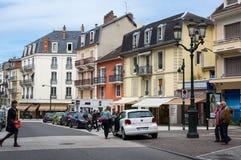 Recurso francês Aix-les-Bains Fotos de Stock