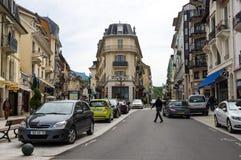 Recurso francês Aix-les-Bains Fotografia de Stock Royalty Free