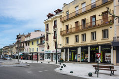 Recurso francês Aix-les-Bains Imagem de Stock Royalty Free