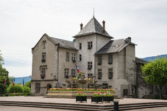 Recurso francês Aix-les-Bains Fotografia de Stock