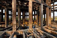 Recurso industrial abandonado Foto de archivo