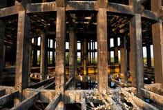 Recurso industrial abandonado Fotografía de archivo