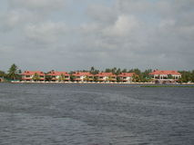 Recurso lateral do lago Fotos de Stock