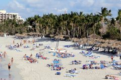 Recurso luxuoso em Varadero, Cuba Imagem de Stock Royalty Free