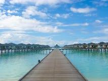 Recurso maldivo Foto de Stock Royalty Free