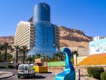 recurso no Mar Morto, um recurso de saúde terapêutico em uma lagoa natural foto de stock royalty free